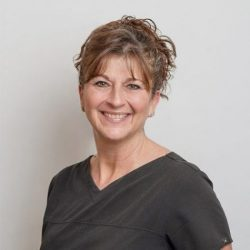 Dianna is our primary dental assistant and an original employee of the practice, dating back to Dr. Venneri. She has over 35 years of dental assisting experience. She will be with you throughout the entirety of the dental appointment. She will accompany you back to the dental operatory, address any questions or concerns you may have before the doctor arrives, and will assist the doctor chairside.  In her free time, she enjoys spending time with her husband, two grown daughters, and chocolate lab. You may also catch her around town running her next 5K!