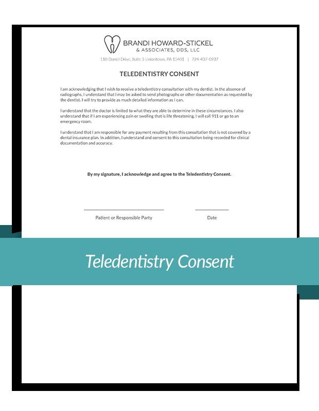 Teledentistry Consent